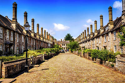 Vicars Close Photograph - Wells In Somerset by Chris Smith