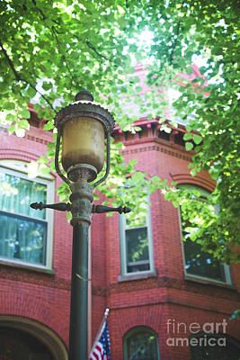 Photograph - West Chicago Lantern by Sonja Quintero