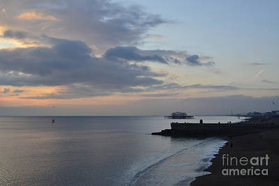 West Pier Views Print by Stephen Smith