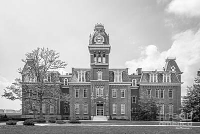 Wv Photograph - West Viriginia University Woodburn Hall by University Icons