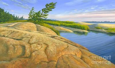 Wind Swept Original by Michael Swanson