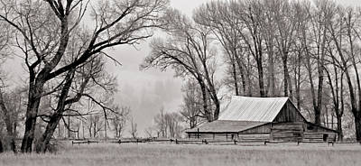 Farms-n-barns Photograph - Western Heritage by Nicholas Blackwell