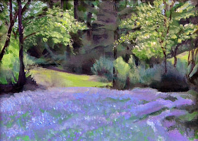 Wa Painting - Westley's Meadow by Mary Chant