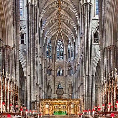 Westminster Abbey Digital Art - Westminster Abbey by Digital Art Cafe