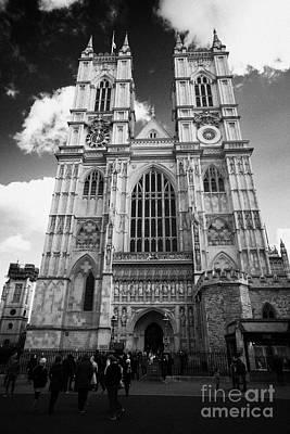 Westminster Abbey Photograph - westminster abbey London England UK United kingdom by Joe Fox