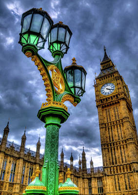 Westminster Print by Svetlana Sewell