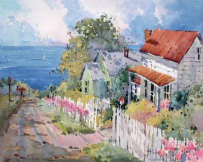 Painting - Westport By The Sea by Joyce Hicks