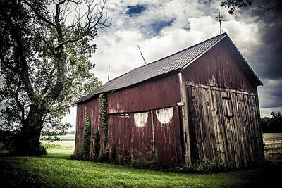 We've Been Here Awhile  Print by Off The Beaten Path Photography - Andrew Alexander