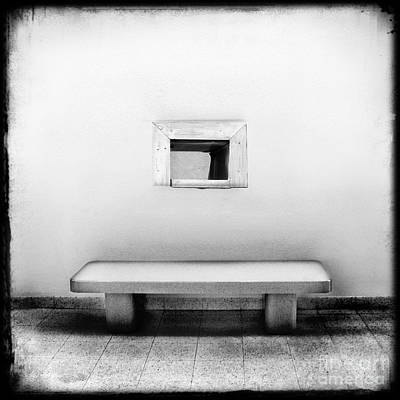 Window Bench Photograph - What Confines You by Dana DiPasquale