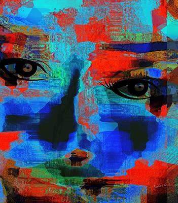 Yesayah Digital Art - What Did He Preach  by Fania Simon