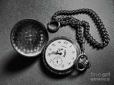 What Is The Time? Print by Jasna Dragun