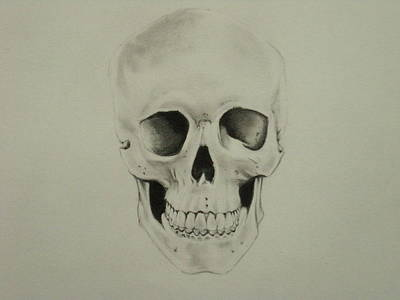 Holloween Drawing - What It Was by Randy McFall