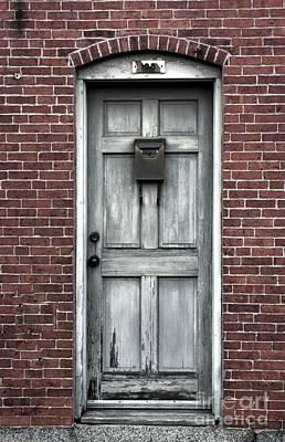 Photograph - What Lies Behind The Gray Door? by Marcia Lee Jones
