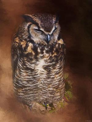 Jordan Painting - What You Imagine - Wildlife Art by Jordan Blackstone