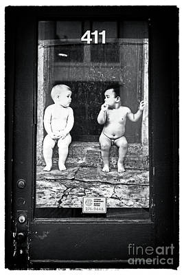 Old Montreal Photograph - Whats The 411 Baby by John Rizzuto