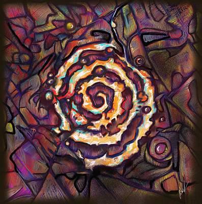 Gypsy Digital Art - Wheel Of Change by Julianne Black