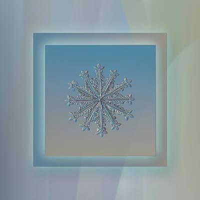 Wheel Of Time - Pastel Frame Print by Alexey Kljatov