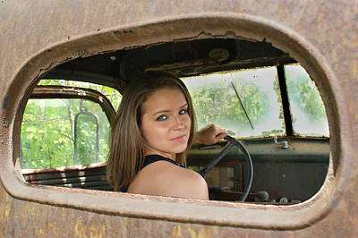 Wheelin Print by Off The Beaten Path Photography - Andrew Alexander
