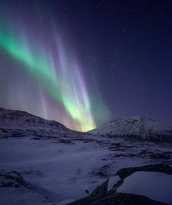Aurora Photograph - When It All Falls Down by Tor-Ivar Naess