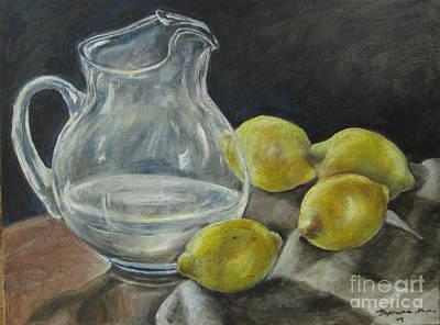 When Life Hands You Lemons Print by Stephanie  Skeem