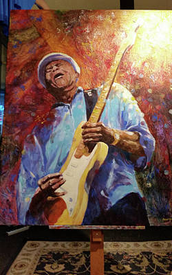 Painting - When Lightning Strikes  by David Maynard