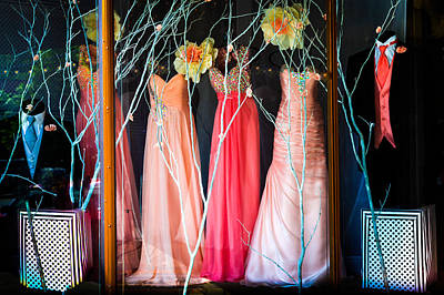 Evening Gown Photograph - When Love Feels New by Karen Wiles