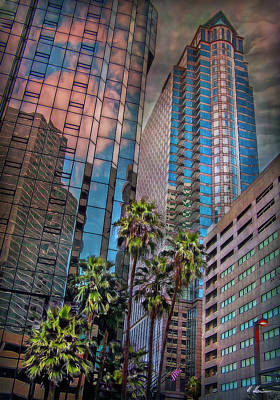 Wolkenkratzer Photograph - When Palmtrees Become Nondescript by Hanny Heim