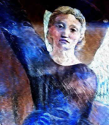 Madonna Digital Art - #when Poets Dreamed Of Angels #4 by Graceindirain Imagery