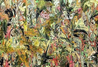 Landscape-like Art Painting - Where Am I by Nancy Kane Chapman