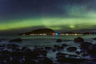 Noruega Photograph - Where Land Meets Ocean by Iwan Groot