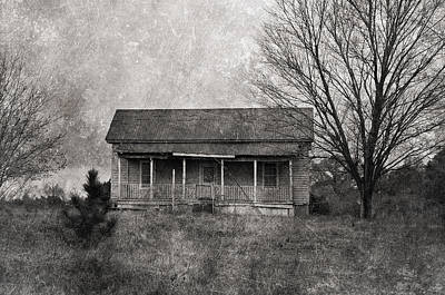 Old House Photograph - Where Nobody Lives by Kim Hojnacki