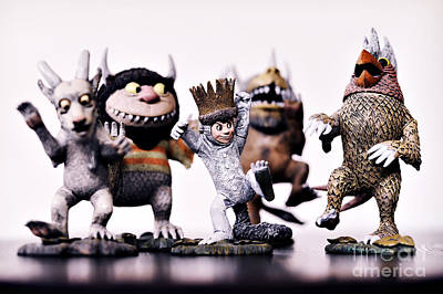 Maurice Photograph - Where The Wild Things Are by HD Connelly