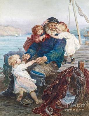 Which Do You Love Best Print by Frederick Morgan