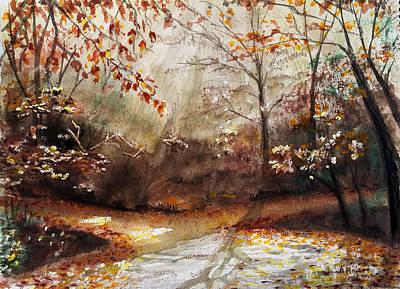 Comfort Painting - Which Way? by Amani Al Hajeri