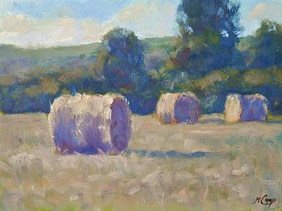 Bales Painting - ...while The Sun Shines by Michael Camp