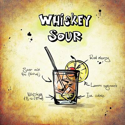 Sour Mixed Media - Whiskey Sour by Movie Poster Prints