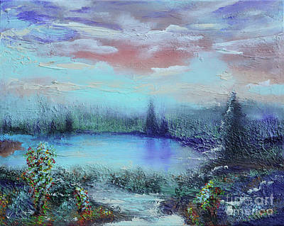 Bayou Painting - Whisper by Alys Caviness-Gober