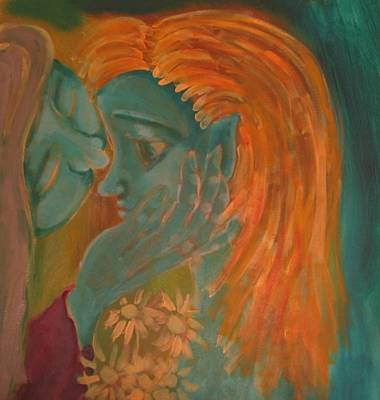 Comfort Painting - Whispers by Wendy Hassel