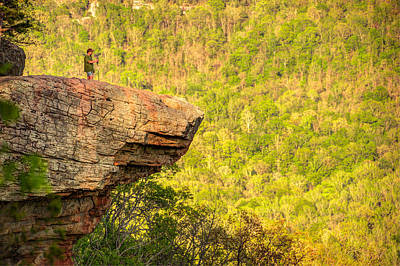 Perspective - Whitaker Point Hawksbill Crag Print by Gregory Ballos