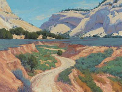 White Cliffs Of Johnson Canyon 18x24 Print by Cody DeLong