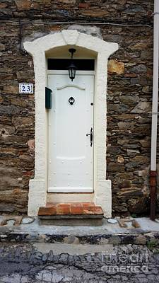 White Door 23 Print by Lainie Wrightson