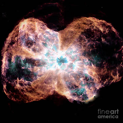 Telescopic Image Photograph - White Dwarf - Burned Out Star - Heavenly Body by Merton Allen