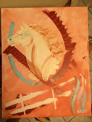 White Horse Original by Scott Harshbarger