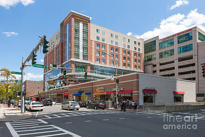 Cambria Photograph - White Plains City Center I by Clarence Holmes