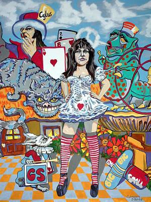 White Rabbit Original by Chuck Jensen