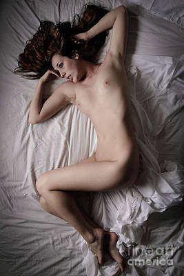 Provocative Photograph - White Sheets 2 by Jt PhotoDesign