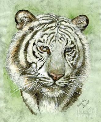 White Tiger Original by Morgan Fitzsimons