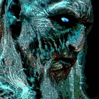 Cersei Photograph - White Walkers. Mask. by Andy Za