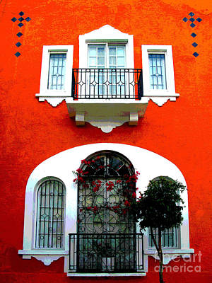 Portal Photograph - White Windows By Darian Day by Mexicolors Art Photography