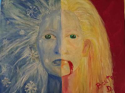 White Witch Vs. Eve Original by Doloris Boutwell
